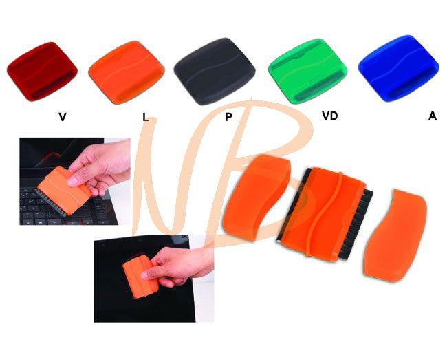 Limpador de tela e teclado