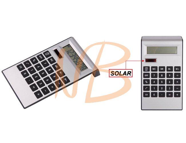 Calculadora com bateria solar