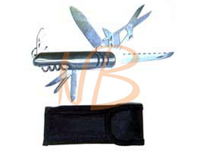Mini canivete em metal 9 funções