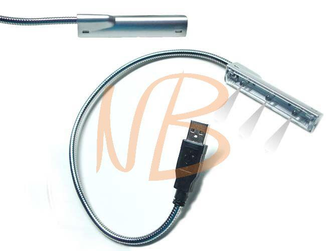 Luminária com cabo USB