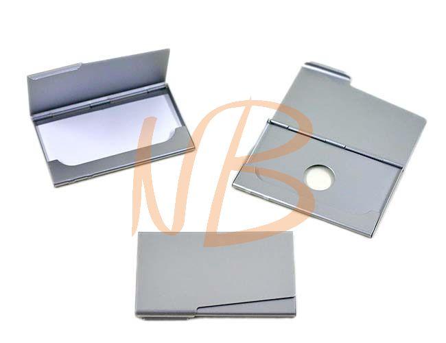 Porta cartão em metal