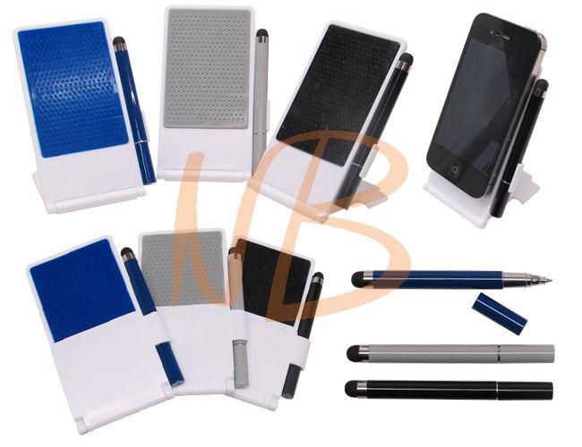 Porta celular com caneta touch